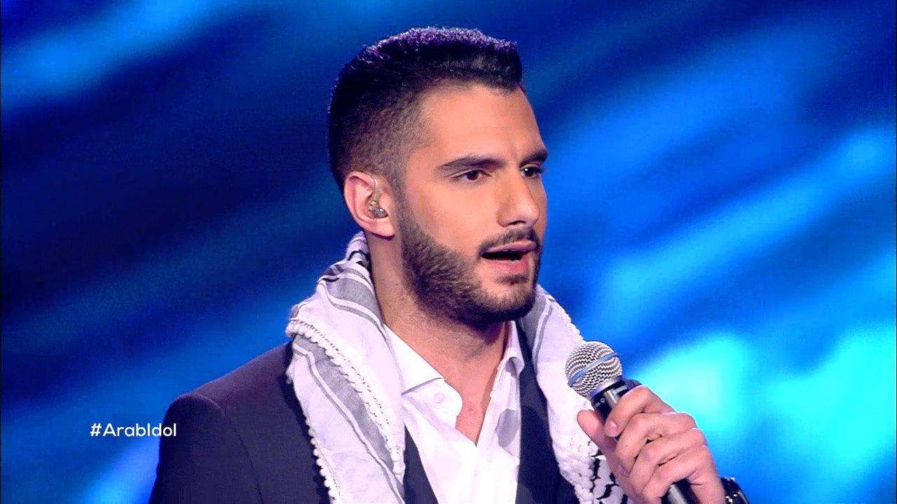 Il palestinese Yaacoub Shahin, vincitore di Arab Idol 2017