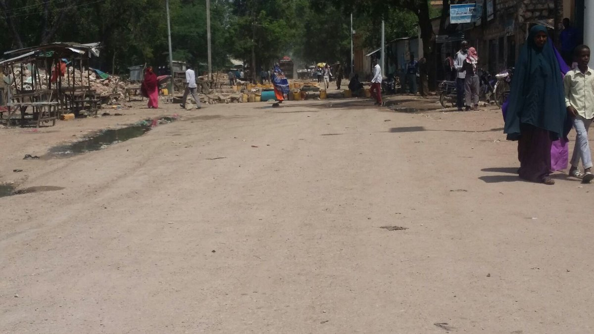 Kaawo-Godeey market - Mogadiscio