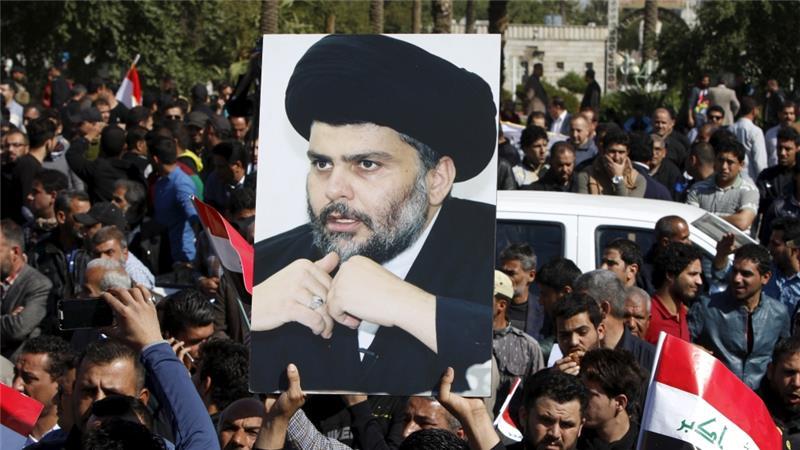 Sostenitori del leader religioso iracheno Moqtada al-Sadr