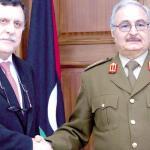 LIBIA. Vertice incompiuto tra Haftar e Sarraj: senza Italia né intesa