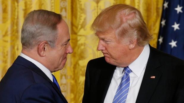 Trump e Netanyahu alla Casa Bianca (Foto: Kevin Lamarque/Reuters)