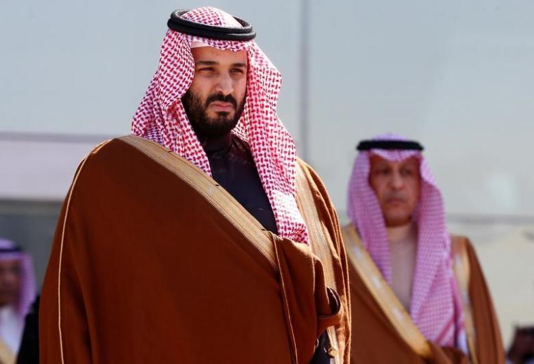 Deputy Crown Prince Mohammed bin Salman (proto credit Faisal al Nasser/Reuters)