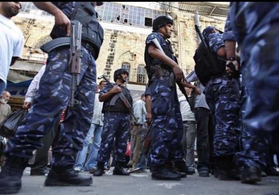 Forze di sicurezza dell'Autorità Palestinese (Foto: Reuters)