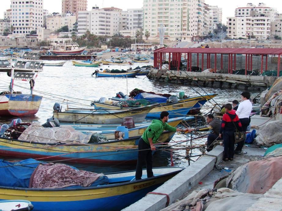 Il porto di Gaza City (Foto: Chiara Cruciati/Nena News)