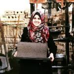 Green Cake al posto del cemento, l'ingegno femminile di Gaza