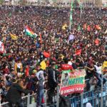 FOTO. Il Kurdistan festeggia un altro Newroz di guerra