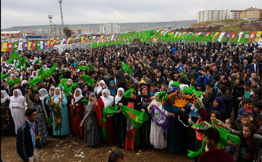 Newroz a Cizre (Fonte: Twitter)