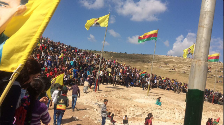 Newroz a Kobane (Fonte: Twitter)