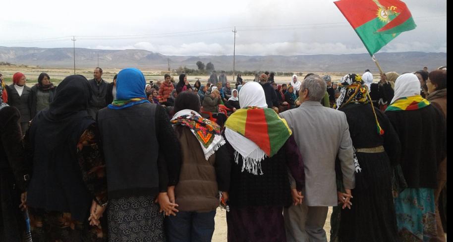 Newroz a Sinjar (Fonte: Twitter)