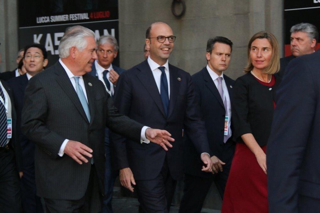 (Foto presa dall'account twitter dell'Alta rappresentate dell'Ue per gli Affari Esteri Federica Mogherini