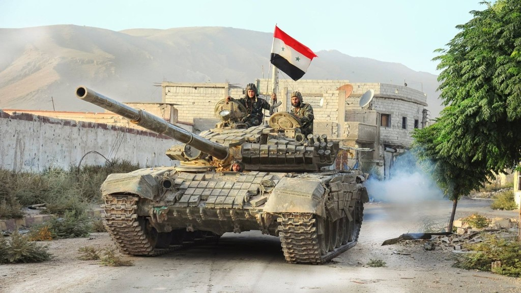 Many Terrorist Killed in Syrian Army Lightening Offensive