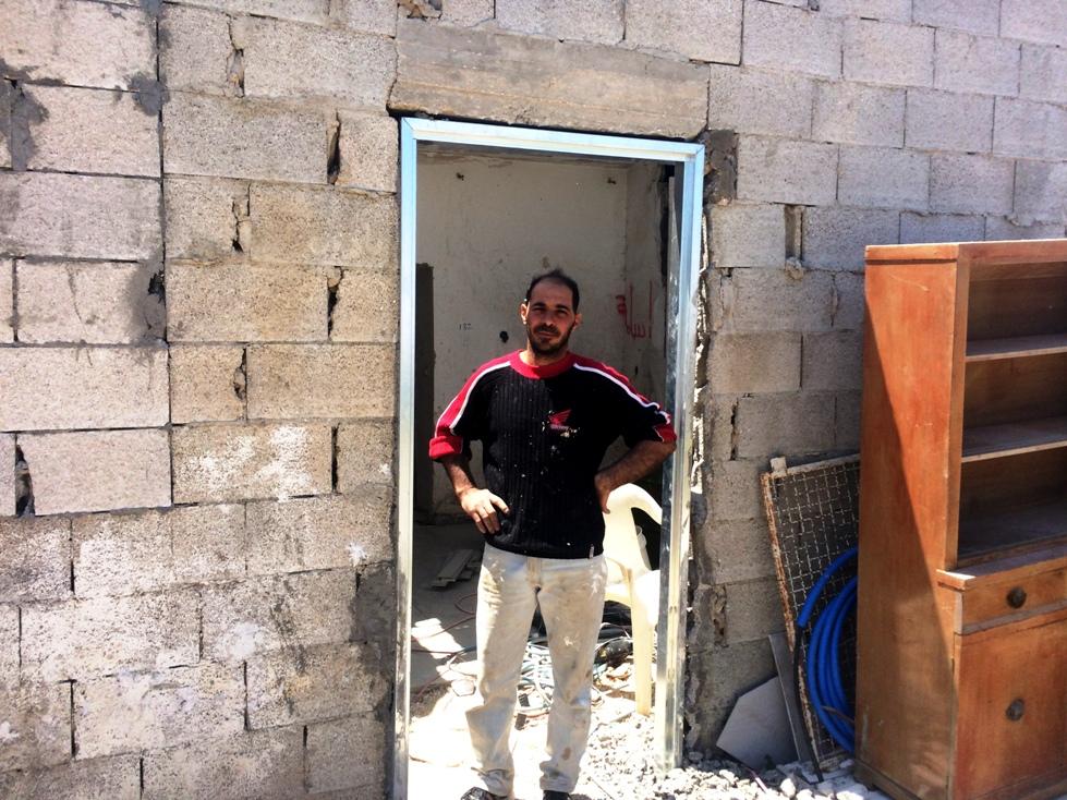 Una delle case ristrutturate a Nabi Samuel (Foto: Nena News)