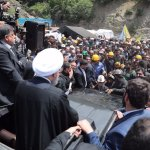 I minatori iraniani contestano Rouhani