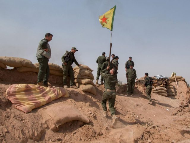 Membri delle Ypg kurde