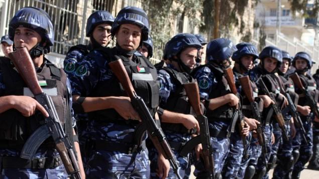 Polizia palestinese (Foto: Issam Rimawi/Flash90)