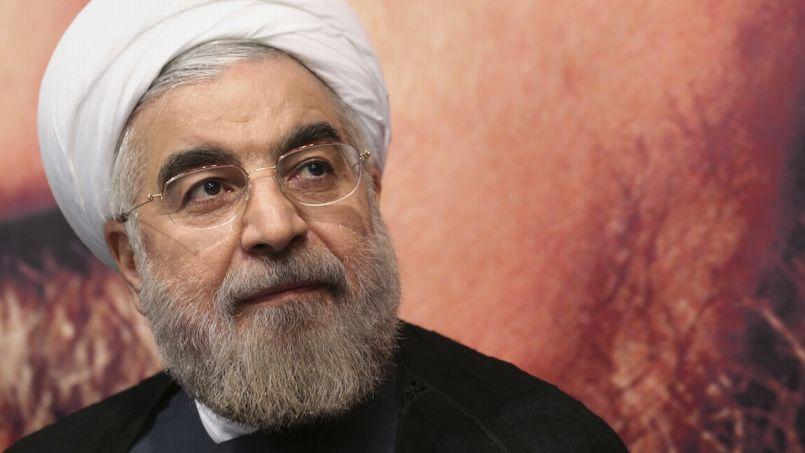 Il presidente iraniano Hassan Rohani (foto Reuters)