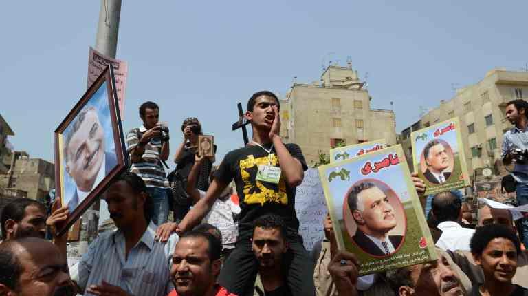 Lavoratori egiziani protestano (Foto tratta dal sito Daily News Egypt)