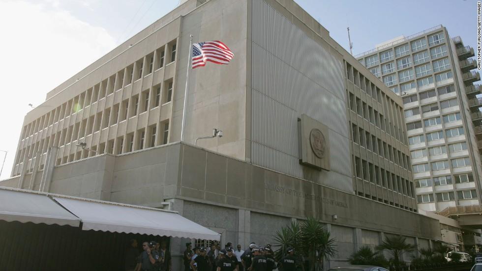 L'ambasciata statunitense a Tel Aviv