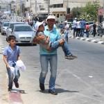 FOTO. Protesta per Gerusalemme al checkpoint 300
