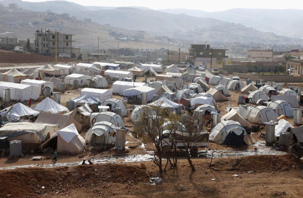 Campo Shuhada,  Arsal (REUTERS/Mohamed Azakir)