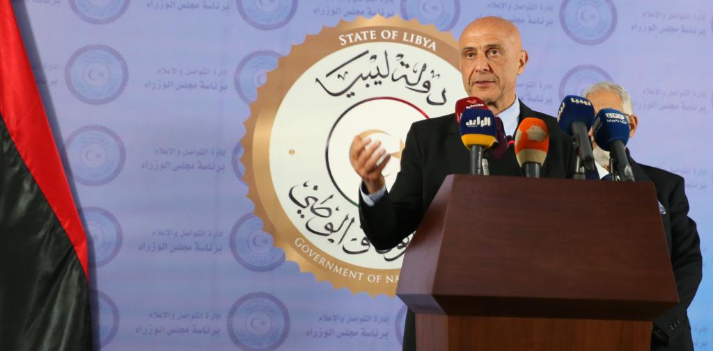 Il Ministro degli Interni italiano Marco Minniti a Tripoli. Gennaio 2017. Fonte Ministero dell'Interno