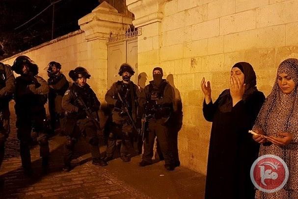 Proteste di ieri a Gerusalemme. (Foto: Ma'an)