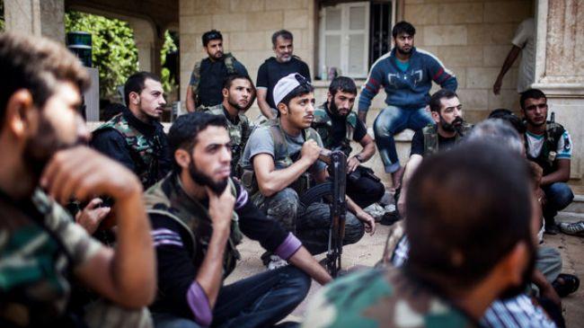 Miliziani dell'ex Fronte al-Nusra