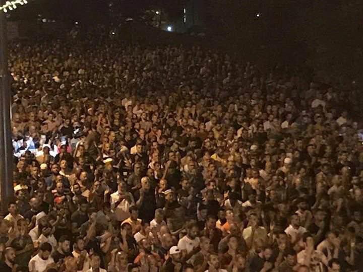 GERUSALEMME. La scorsa notte nei pressi della Porta dei Leoni