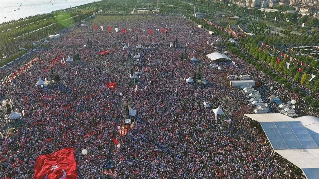 La giornata finale della marcia della giustizia a Istanbul