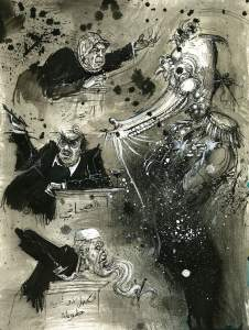 Illustrazione di Molly Crabapple