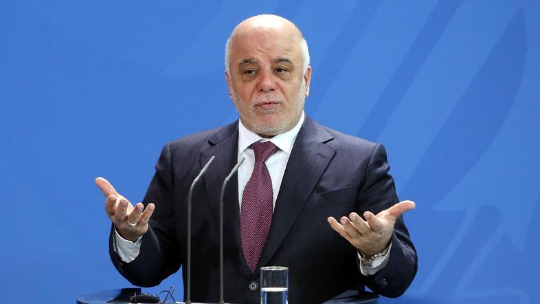 Il premier iracheno Heider al Abadi