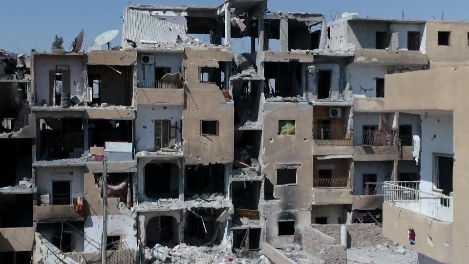 Raqqa oggi catturata da un drone della Cnn