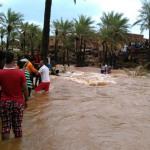 YEMEN. 18 morti per le alluvioni, raid saudita a Sana'a fa 5 vittime