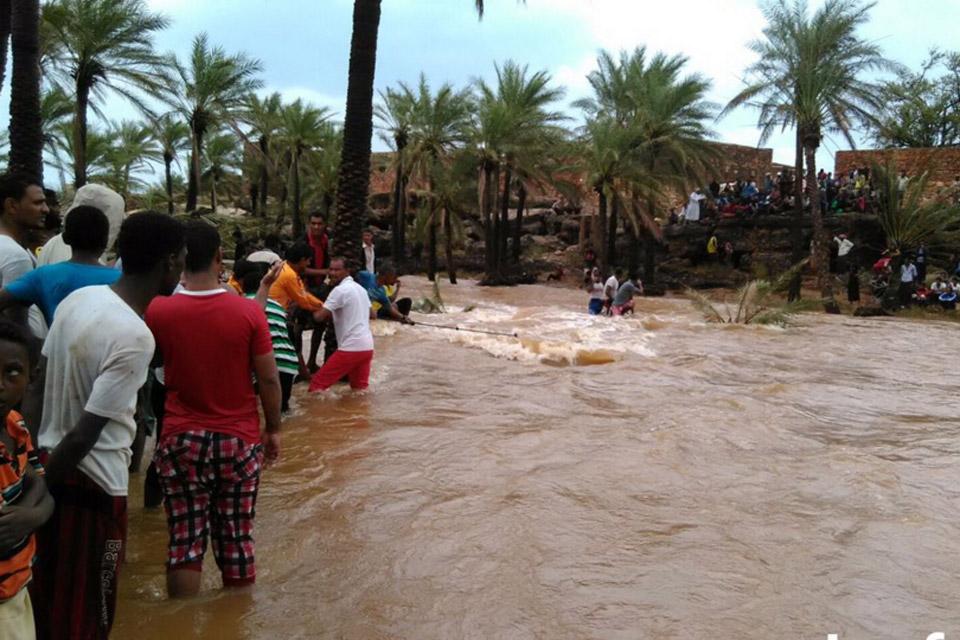 L'alluvione del 2015 in Yemen (Foto: Unicef)