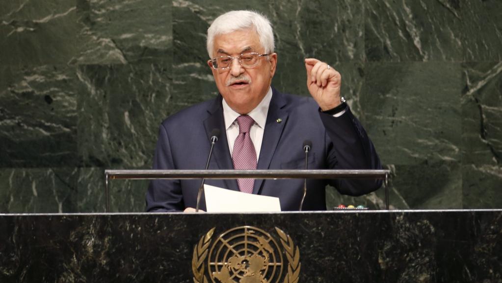 Il presidente dell'Autorità palestinese Abbas