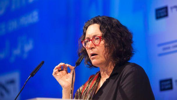 La giornalista israeliana Amira Hass