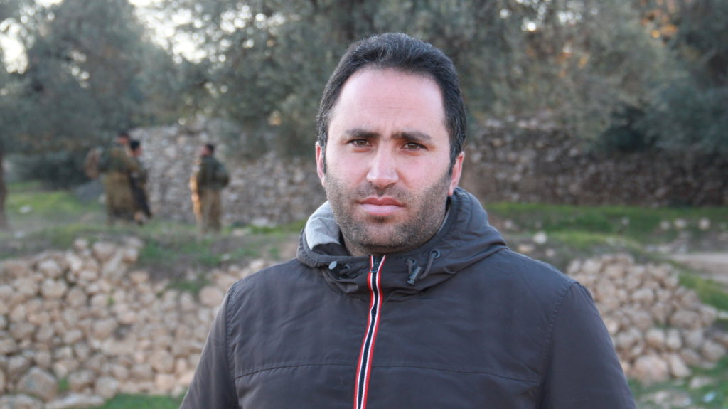 Issa Amro, foto tratta dal sito Npr