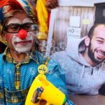 PALESTINA. Rilasciato il clown palestinese