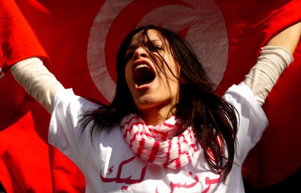 Lotta per i diritti delle donne in Tunisia (foto UNDP)
