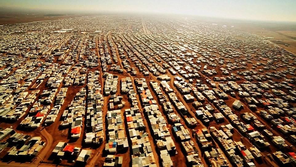 Il campo profughi di Zaatari in Giordania