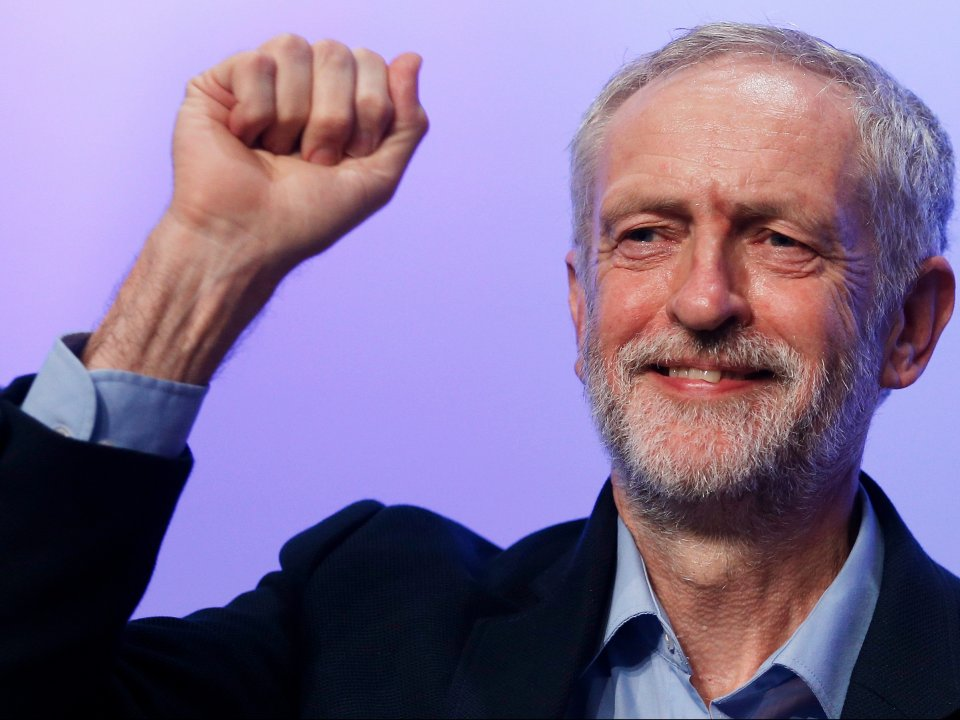 Il leader laburista inglese Jeremy Corbyn