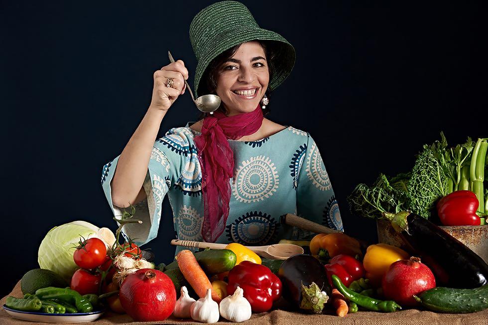 La chef Fidaa Abu Hamdiyyeh