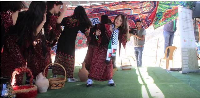 Un momento della festa del primo ottobre a Al Burj