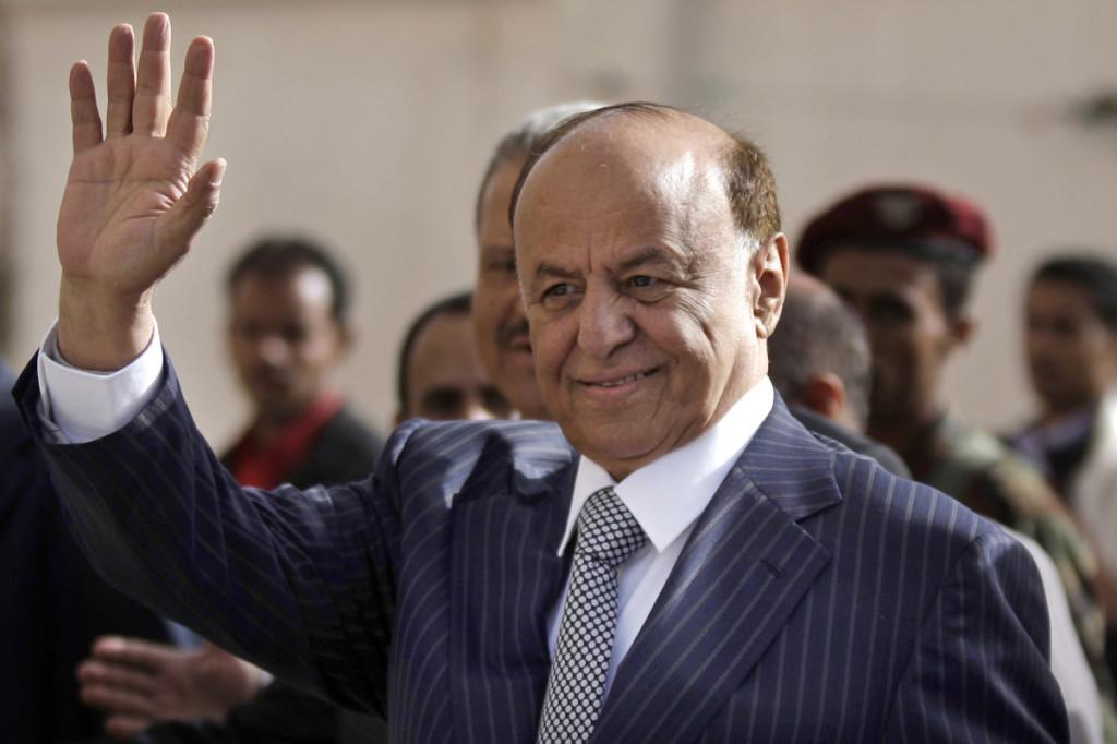 Il presidente yemenita Hadi