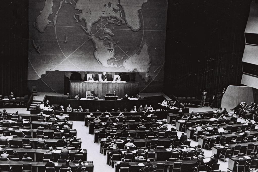L'Assemblea generale delle Nazioni Unite vota per la partizione della Palestina, 29 Novembre 1947