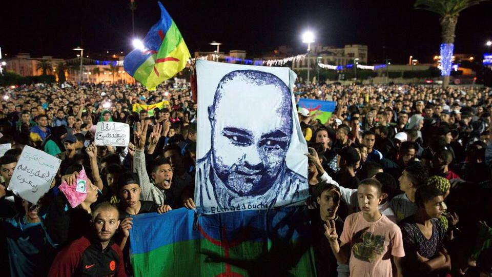 Proteste nel Rif per Mouhcine Fikri
