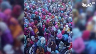 La calca di Sidi Boulaalam ripresa in un video reso pubblico da Al-Arabiya