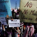 YEMEN. Aiuti ancora bloccati, mentre Riyadh compra armi Usa