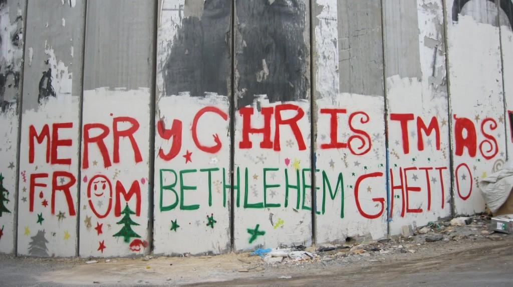 Il Muro israeliano che divide Betlemme da Gerusalemme