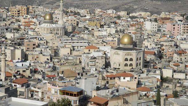 La città palestinese di Umm al Fahem nel nord est di Israele
